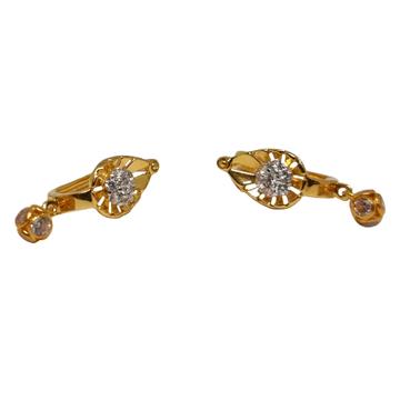 18K Gold Modern Earrings MGA - BLG0619
