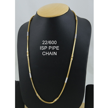 916 Gold ISP Pipe Chain ML-C04