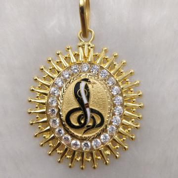 916 Gold Fancy Gent's Goga Maharaj Pendant