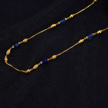Ladies Delicate Gold Mala-AC124