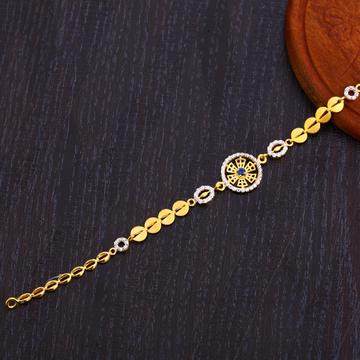 22CT Gold Delicate Ladies Bracelet LB306