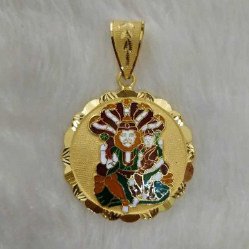 Narasimha gold god Pendant