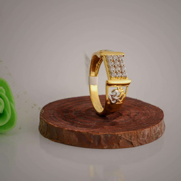 om casting Daimond fancy ring by Aaj Gold Palace