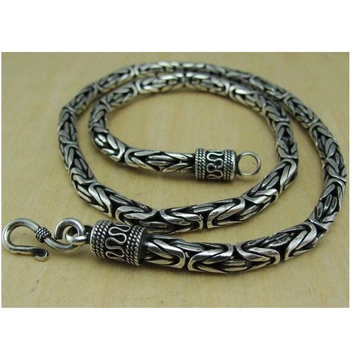 New Latest Unique Design Silver Hallmark Chain by P.P. Jewellers