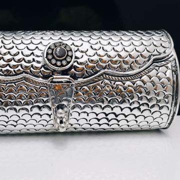 Silver purse jys0029