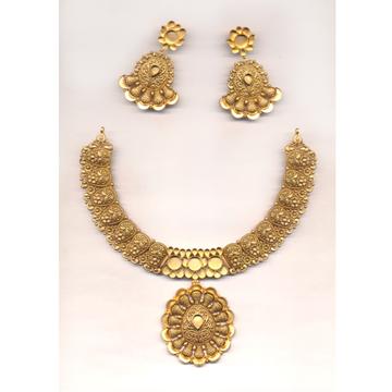 Jadtar Necklace Set Khokha OM - N022