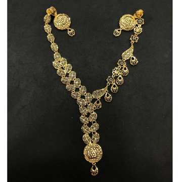 916 Gold Stylish Turkish Necklace by