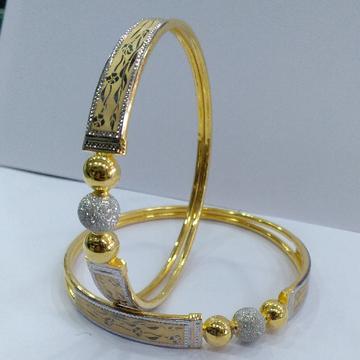 22KT/ 916 Gold fancy Rose printed design Cooper Ka... by