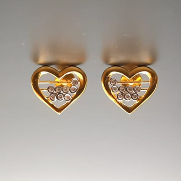 18 ct gold tops for heart shape for uniqe design