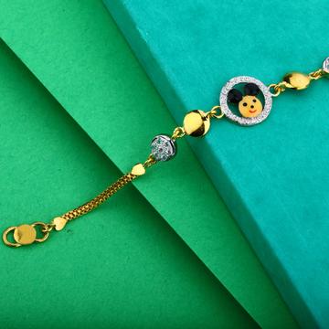 Gold Kids Bracelet-KB09