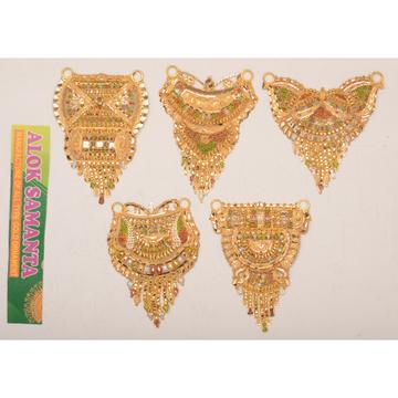 916 Gold Indian Design Pendants