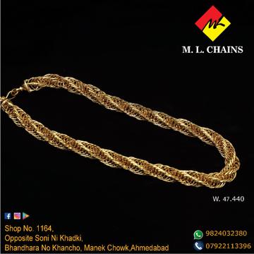 916 Gold Hallmarked chain ML-C08