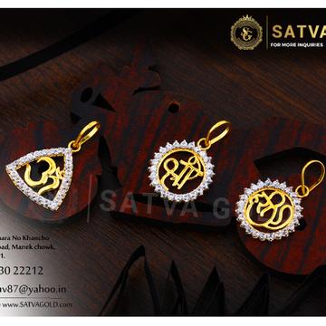 916 gold pendants SGP-0004