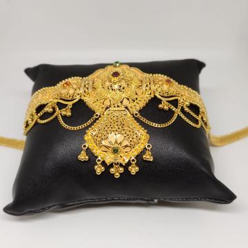 22 carat gold traditional ladies bajuband RH-Wk981