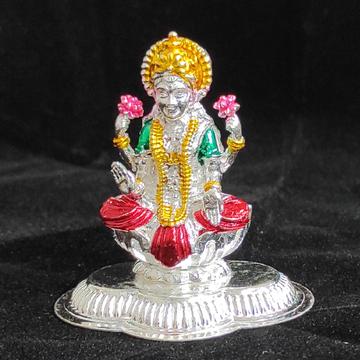 silver laxmi murti by