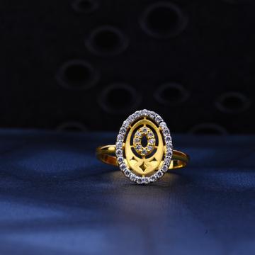22ct Gold Fancy Designer Ring LR31