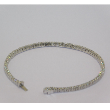 18K gold diamond bracelet agj-br-65