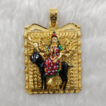916 Gold Meladi Maa Antique Gent's pendant