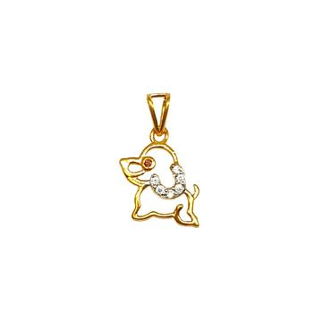 22k gold baccha pendant mga - pdg1162