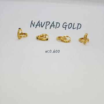 18ct gold salaman Bali NG-CW7722