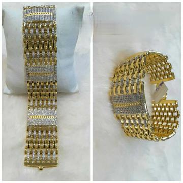 22k Gents Fancy Heavy Bracelet G-9608