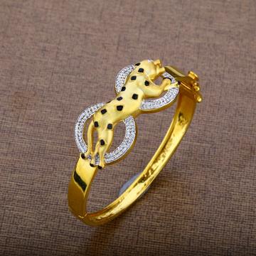 Mens Jaguar Gold Kada-MKB13