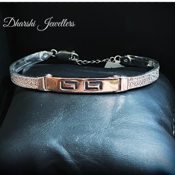 Silver Copper Bracelet(Unisex) by