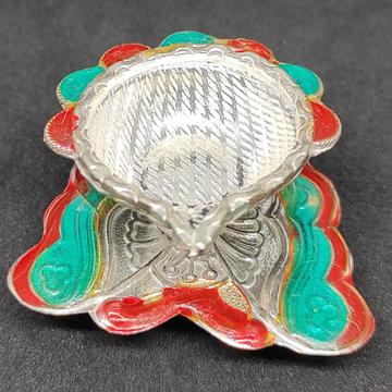 silver Fancy Diya by