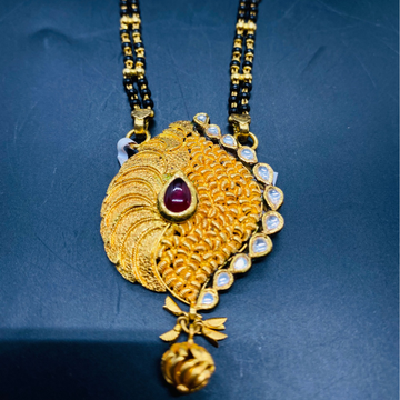 Jadtar Mangal Sutra by Devika Art Jewellery