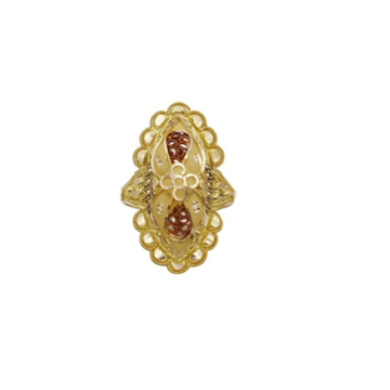 22 k light wt gold ladies ring RJ-LRG-009