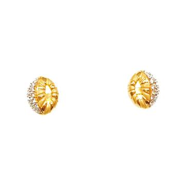 22K Gold Designer Earrings MGA - BTG0011