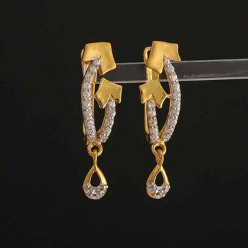 22k Gold Diamond Antique Buti by