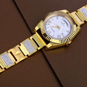916 Gold Mens Designer Watch MW27