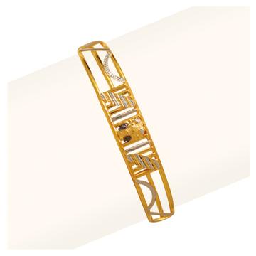 916 Gold Designer Gents Bracelet RJA-010