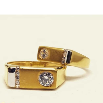 916 Gold Couple Ring RH-CP013