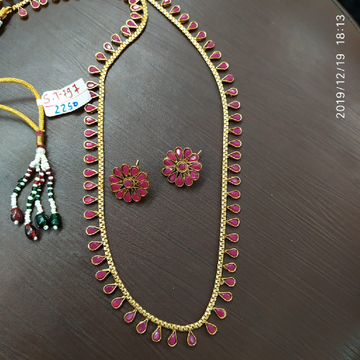 sauth Indian necklace set#831