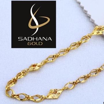 22KT Gold Hallmark Chain by