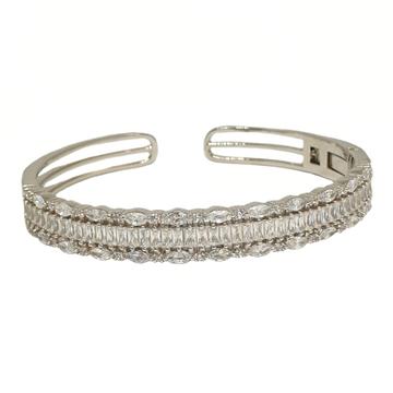 925 Sterling Silver Designer Kada Bracelet MGA - BRS1794