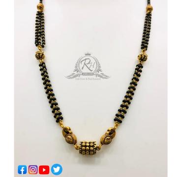 22 carat gold ladies mangalsutra Rh-MN192