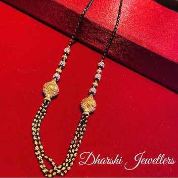 22K Gold Designed Mangalsutra by