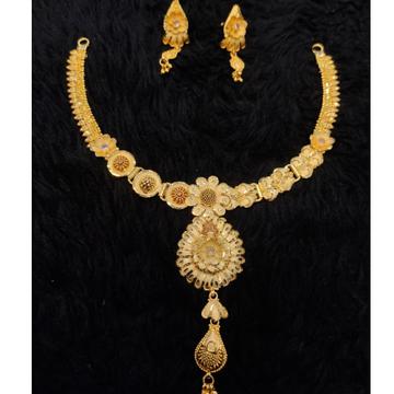 gold 22k/916 traditional bridal set RH-BS628