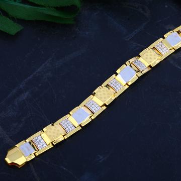 Mens Gold Bracelet-MCB73