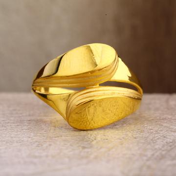 22Kt Gold Women's Plain Ring LPR260