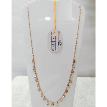 22 carat gold traditional ladies mala RH-LM827