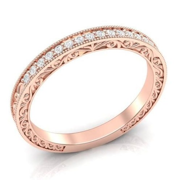 designer filigree diamond band