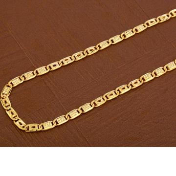 916 Gold Exclusive Hallmark  Men's Nawabi  Chain  MNC41