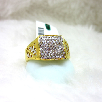 Gold Casting Diamond Ring