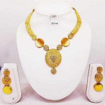 22kt gold fancy turkish set bj-n02