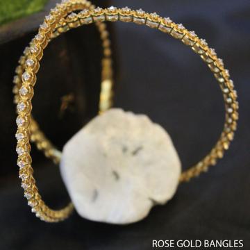 18kt yellow gold bangles