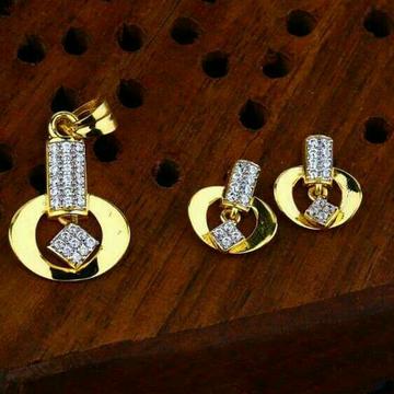 Gold Shiner Pendent Set 916